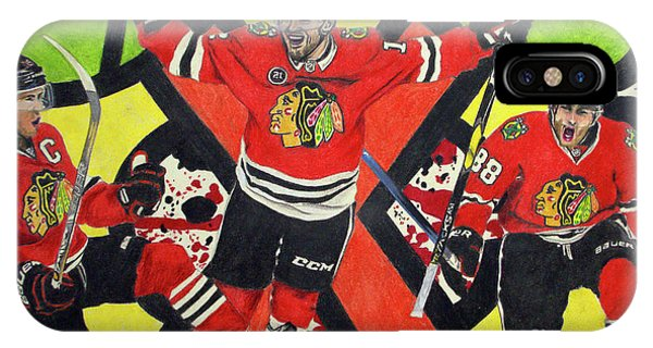 Blackhawks Authentic Fan Limited Edition Piece IPhone Case