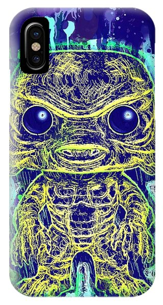 Creature From The Black Lagoon Pop IPhone Case
