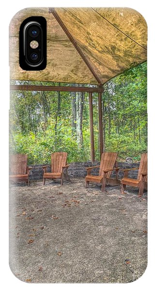Blacklick Woods - Chairs IPhone Case
