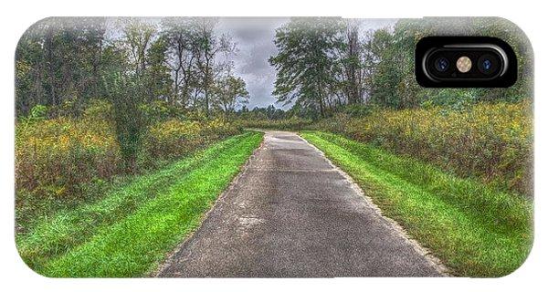 Blacklick Woods Pathway IPhone Case
