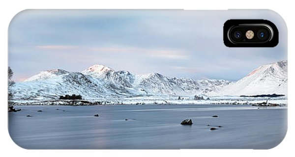 IPhone Case featuring the photograph Blackmount Sunrise - Glencoe by Grant Glendinning