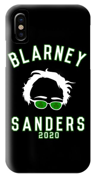St. Patricks Day iPhone Case - Blarney Sanders 2020 Bernie St Patricks Day by Flippin Sweet Gear