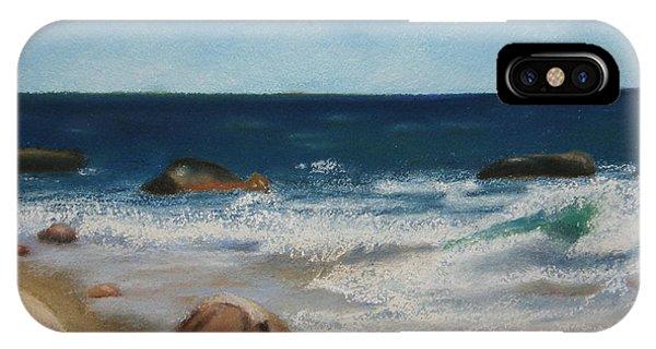 Block Island Surf IPhone Case
