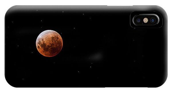 iPhone Case - Blood Moon by Andrew Paranavitana