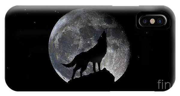 Pre Blood Red Wolf Supermoon Eclipse 873r IPhone Case