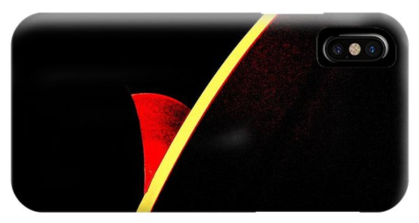 Bloodmoonrise Abstract IPhone Case