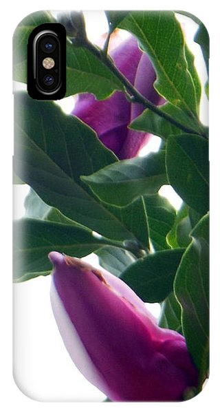 Blossoming Magnolias IPhone Case