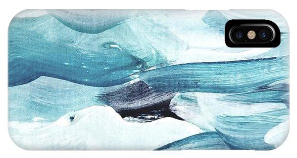 Blue #13 IPhone Case