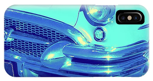 Blue 1955 Buick Special IPhone Case