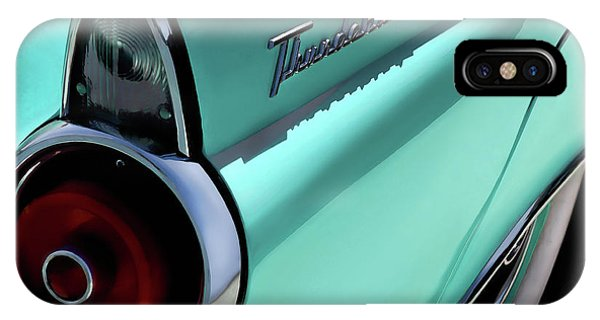 Fins iPhone Case - 1955 T-bird by Douglas Pittman