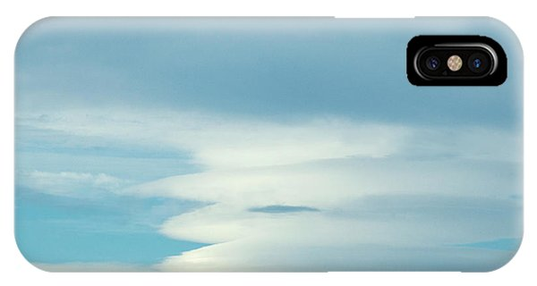 Blue And White Clouds IPhone Case