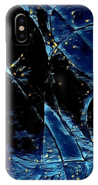 My Son iPhone Case - Blue Angel by Nikolay Ivanov