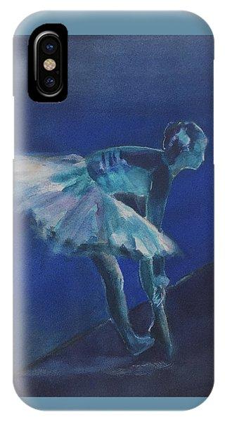 Blue Ballerina IPhone Case
