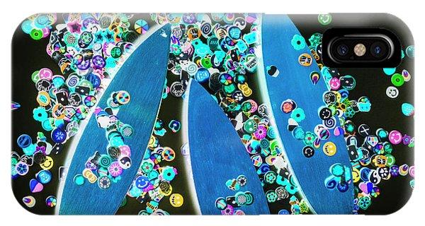 Surfboard iPhone Case - Blue Boarding Bay by Jorgo Photography - Wall Art Gallery