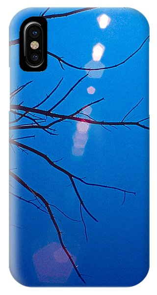 IPhone Case featuring the digital art Blue by Christopher Meade
