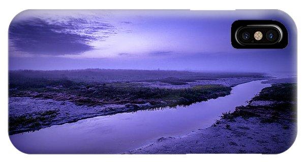Blue Dawn IPhone Case