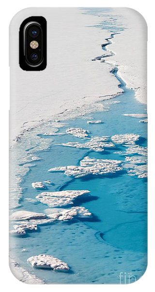 Winter iPhone Case - Blue Glacier Lake by Incredible Arctic