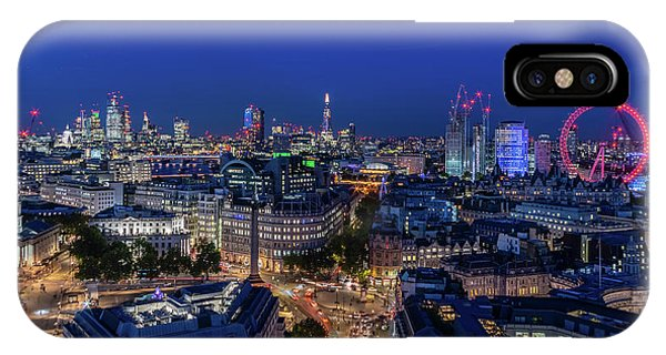 IPhone Case featuring the photograph Blue Hour In London by Stewart Marsden