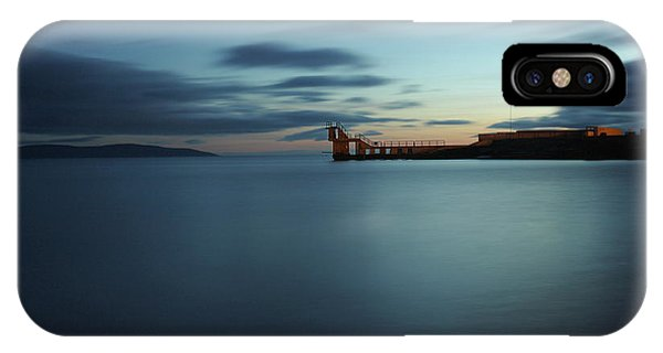Blue Hour Salthill IPhone Case