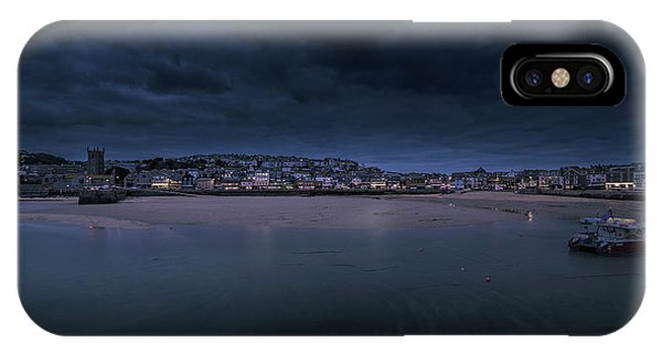 Blue Hour - St Ives Cornwall IPhone Case