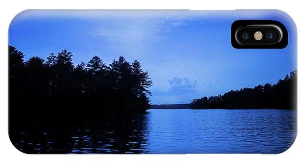 Blue Lake IPhone Case