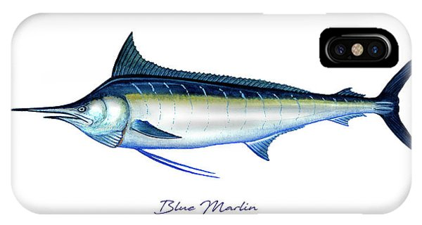 Blue Marlin IPhone Case