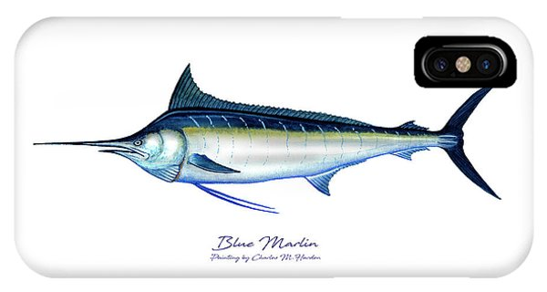 Blue Marlin IPhone Case