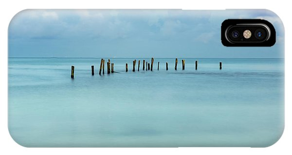 Blue Mayan Sea IPhone Case