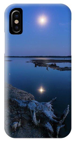Blue Moonlight IPhone Case