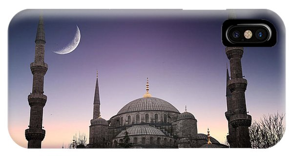 Turkey iPhone Case - Blue Mosque - Istanbul  Turkey by Plusone