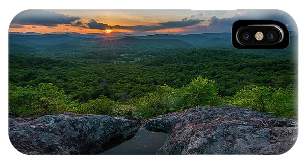 Blue Ridge Mountain Sunset IPhone Case