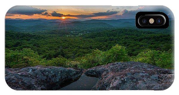 Blue Ridge Mountain Sunset IPhone Case