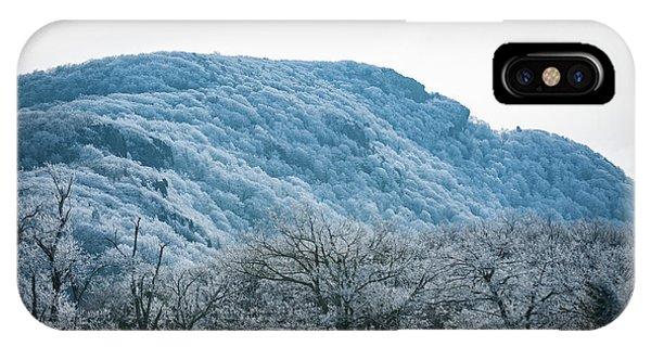 Blue Ridge Mountain Top IPhone Case