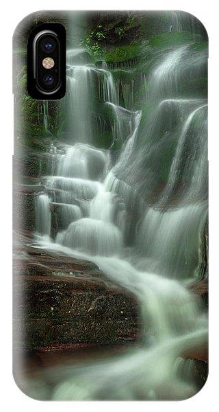 Blue Ridge Mountains Cascade IPhone Case