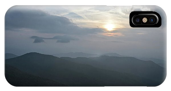 IPhone Case featuring the photograph Blue Ridge Parkway Sunset by Claire Turner