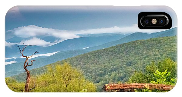 IPhone Case featuring the photograph Blue Ridge Parkway View by Ken Barrett