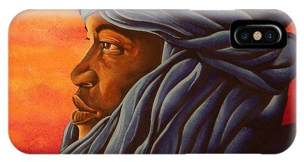 Blue Tuareg IPhone Case