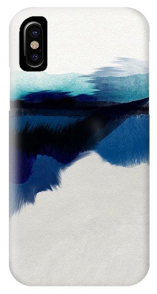 Sky iPhone Case - Blue Vista- Art By Linda Woods by Linda Woods