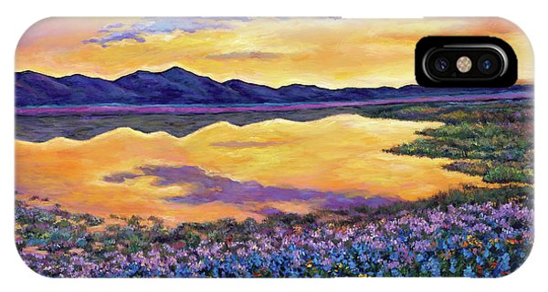 Orange Sunset iPhone Case - Bluebonnet Rhapsody by Johnathan Harris