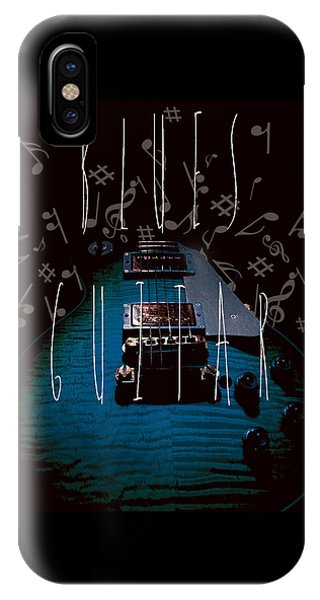 Blues Guitar Music Notes IPhone Case