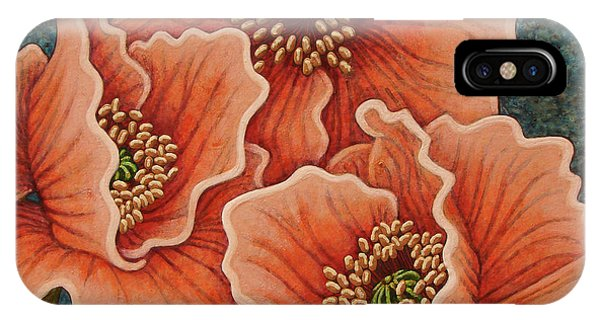 IPhone Case featuring the painting Blushing Gossips by Amy E Fraser