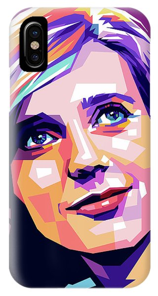 Blythe Danner Pop Art IPhone Case