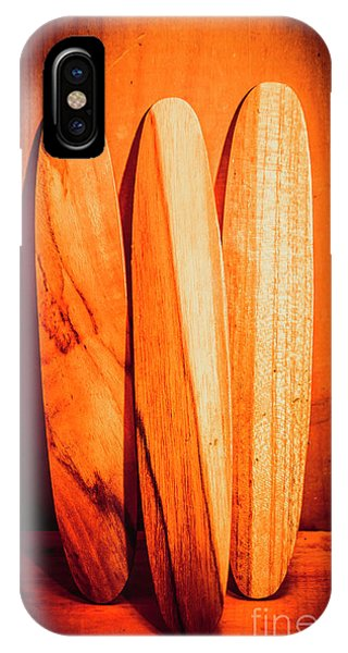 Surfboard iPhone Case - Boarding House by Jorgo Photography - Wall Art Gallery