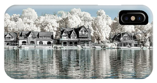 Boathouse Row Infrared Phone Case by Stacey Granger
