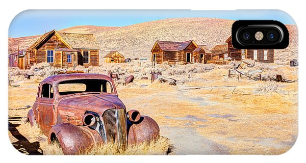 Historic House iPhone Case - Bodie Is A Ghost Town In The Bodie by Mariusz S. Jurgielewicz