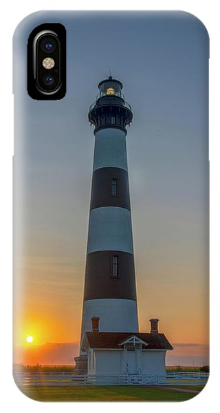 IPhone Case featuring the photograph Bodie Island, Sunrise, Obx by Cindy Lark Hartman