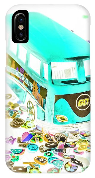 Vehicles iPhone Case - Boho Blue by Jorgo Photography - Wall Art Gallery