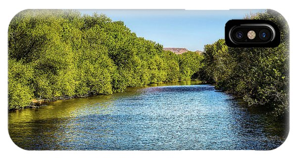 IPhone Case featuring the photograph Boise River by Jon Burch Photography