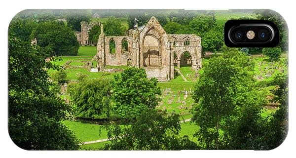 Bolton Abbey, Yorkshire Dales Phone Case by David Ross