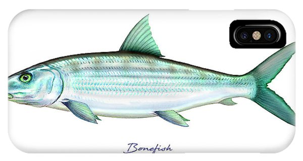 Reel iPhone Case - Bonefish by Charles Harden